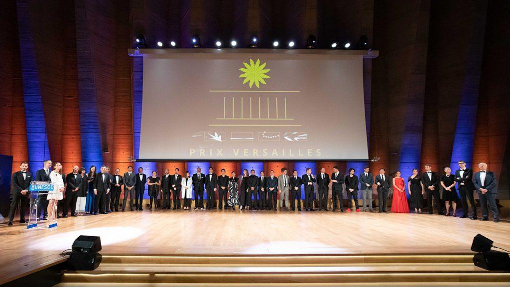 Prix Versailles 2019 ceremony at the Unesco Headquarters