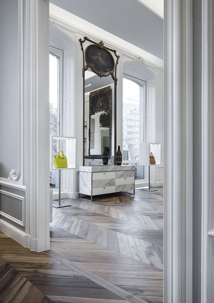 Prix Versailles 2019 Delvaux Flagshipstore Brussels by Vudafieri Saferino