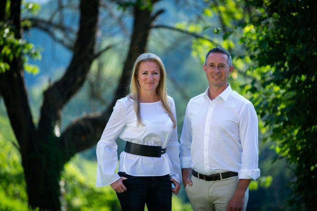 Patrizia & Erwin Sabathi, Photo: Weingut Erwin Sabathi