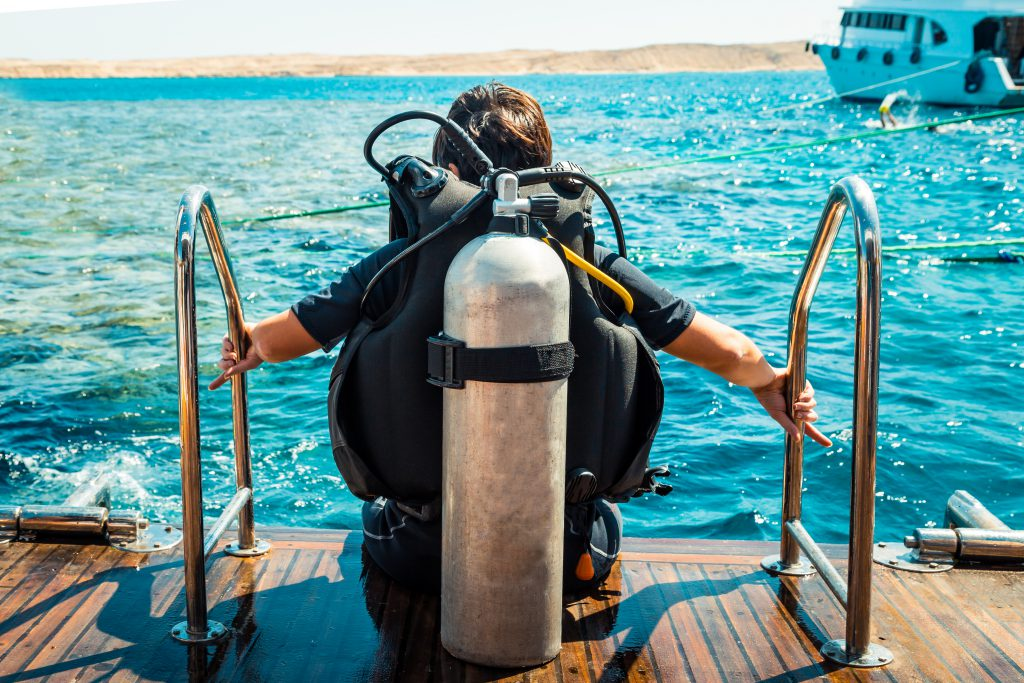 Diving adventures, Photo by Shutterstock