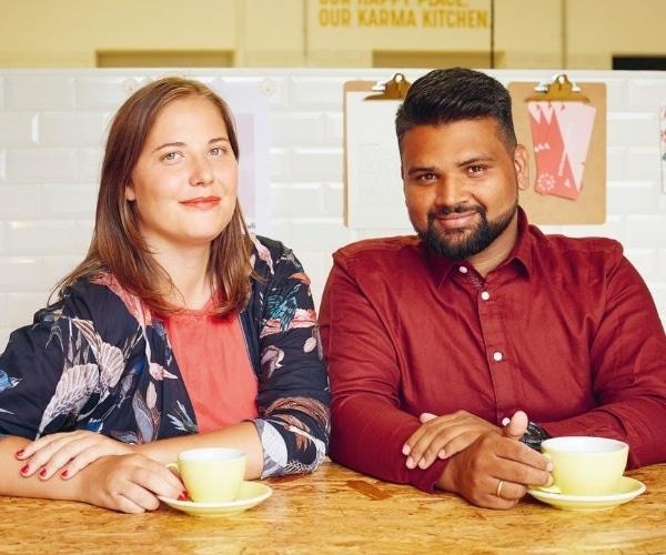 Karma Food by Simone and Adi Raihmann