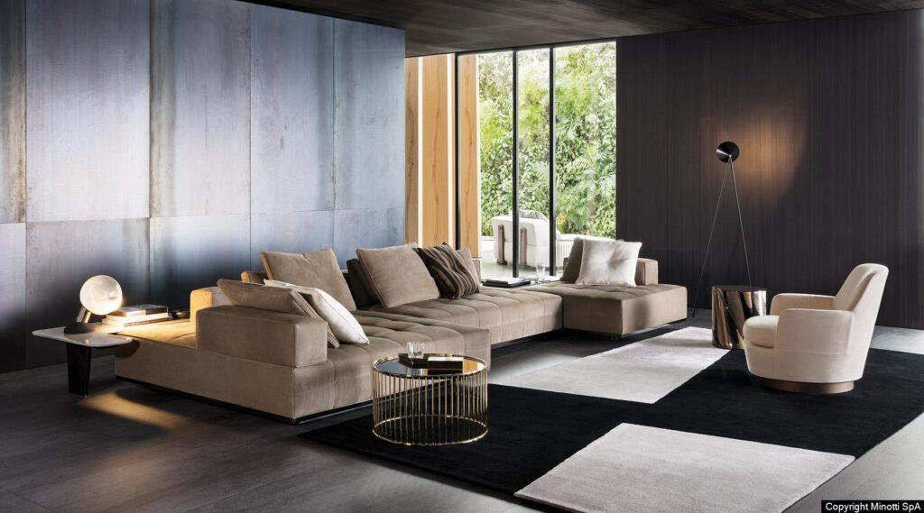 Robert Eisenberger, Livingroom by MINOTTI